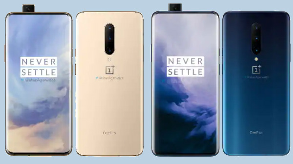 OnePlus 7 Pro official renders leak ahead of launch