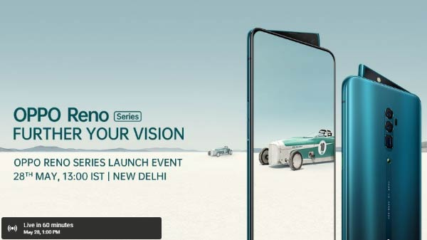 Oppo Reno 10X Zoom and Reno Launches in India Starting at Rs 39,990