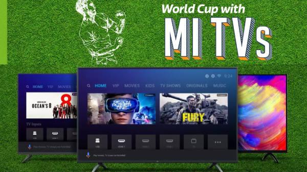 World Cup Mi Tv Sale: Get Offers on Mi Smart TVs