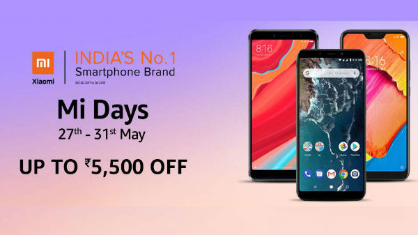 Amazon Mi Day Sale: Get up to Rs. 5,500 off on Xiaomi smartphones