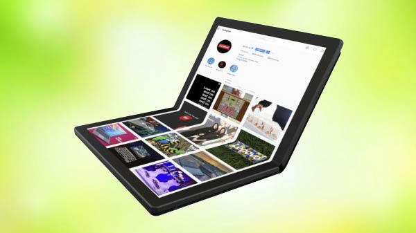 Lenovo announces world's first foldable laptop; 2020 launch expected
