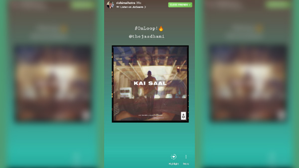 How to share music from JioSaavn to Instagram and Facebook stories