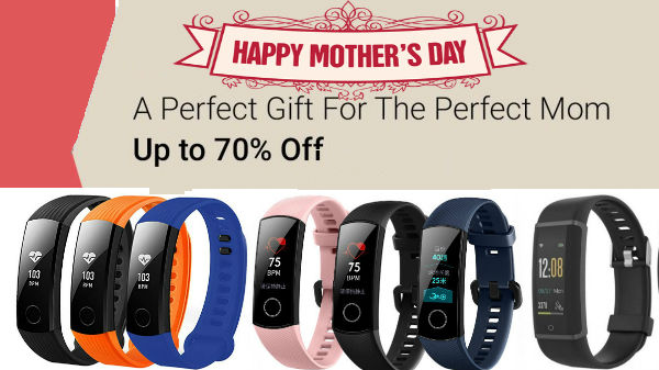 Mother's Day Gift Ideas: Best Smart Bands for your mom from Rs 500
