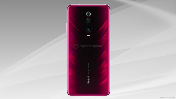 Redmi K20 Flame Red render hits the web once again
