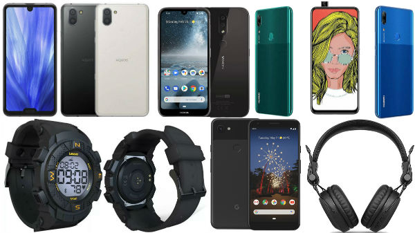 Week 19, 2019 launch round-up: HUAWEI P Smart Z, Pixel 3a and more