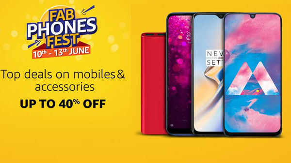 Amazon Fab Phone Fest: Get Up To 40% Off On Smartphones