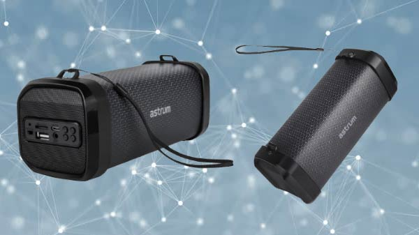 Astrum Launches Bass Barrel Speaker ST290 In India at Rs. 1,690