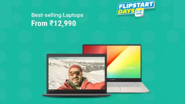 Flipkart Days Sale: Offers on Best Laptops