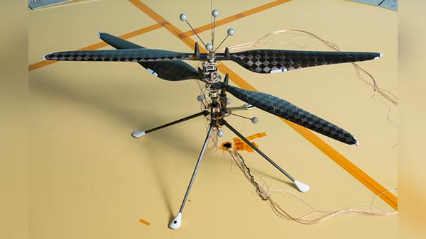 NASA Mars Helicopter Passes Yet Another Flight Test