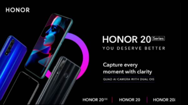 Honor 20, Honor 20 Pro, Honor 20i India Launch Today – Live Stream