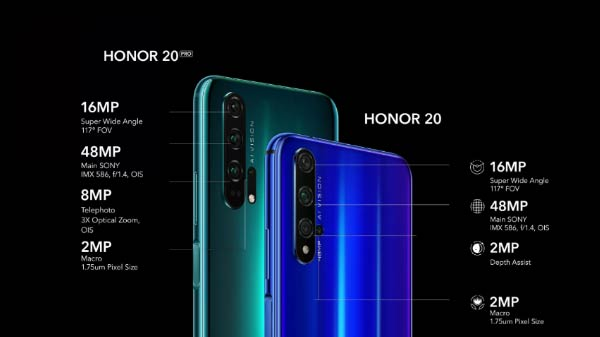 Honor 20 And Honor 20 Pro Launched In India – Price, Specs And Offers
