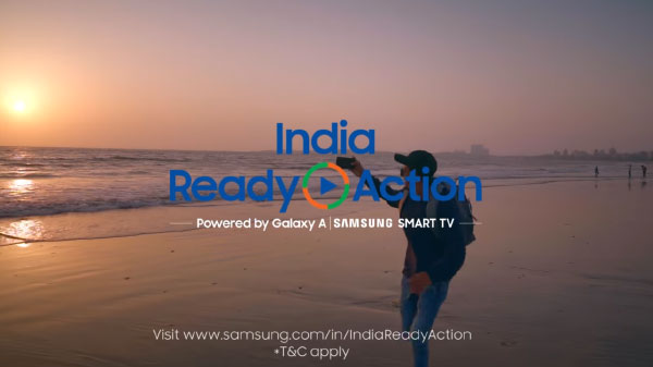 Samsung India Ready Action Achieved 161.8 Million Engagements