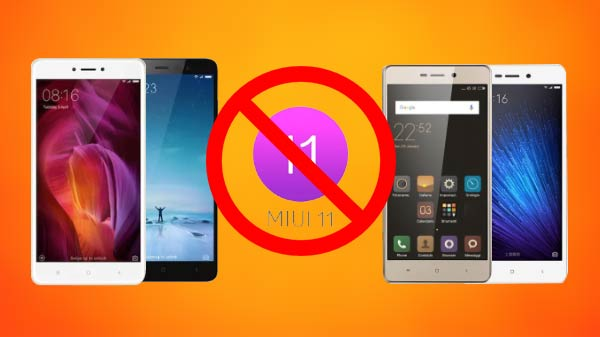 Xiaomi Smartphones Which Are Not Eligible For MIUI 11 – Bad News