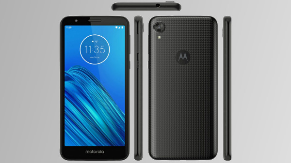 Moto E6 Render Leaked – Shows Design From All Angles