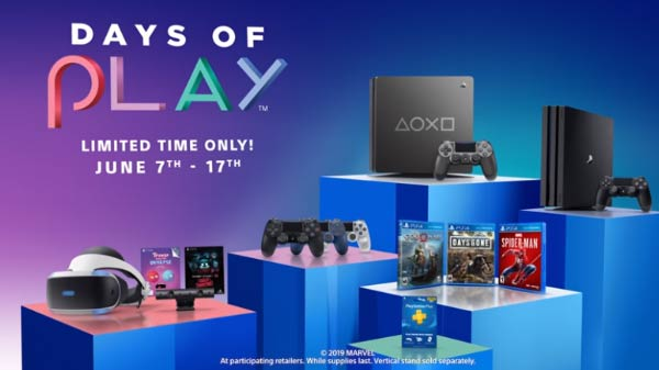 PlayStation Days Of Play Sale 2019 –Deals Which You Dont Want To Miss