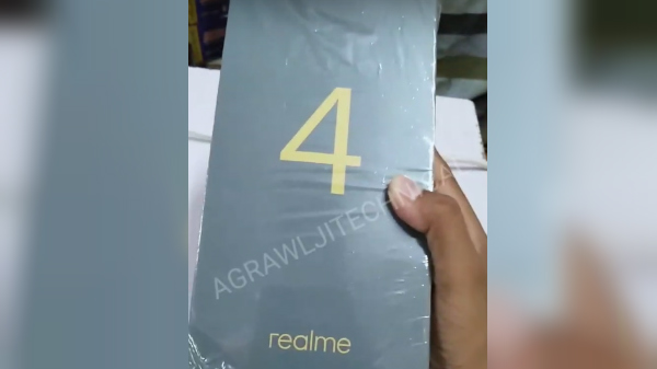 Alleged Realme 4 Retail Package Surface Online: Looks Fishy Though