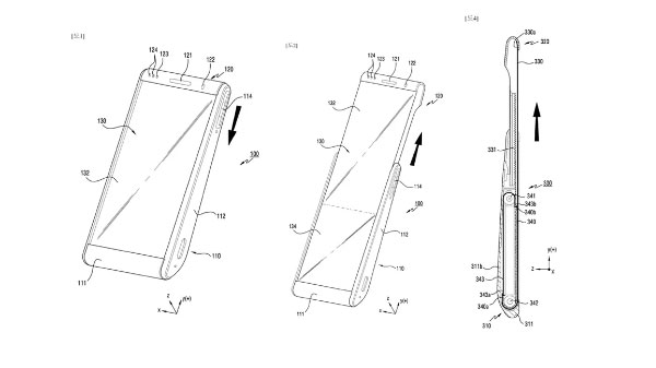 Samsung Patents Smartphone Design With Rollable Display