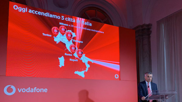 Vodafone 5G Goes Official In Italy