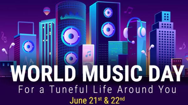 Flipkart World Music Day Offers – Get Discounts On Music Gadgets