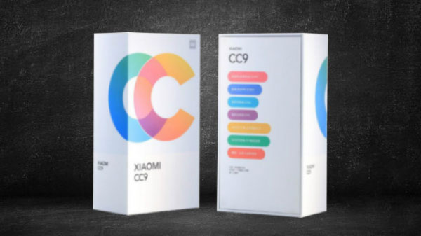 Xiaomi Mi CC9: Retail Box And Offical Renders Teased Online