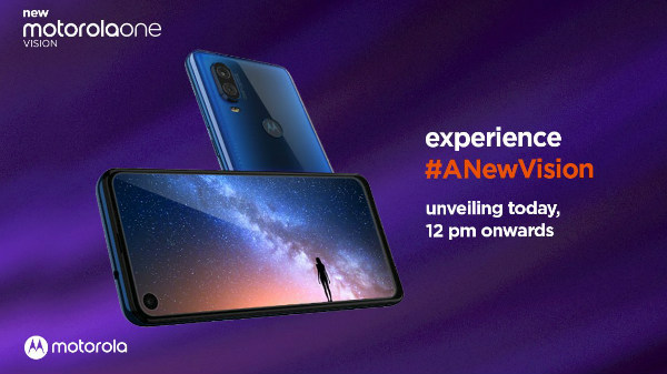 Motorola One Vision Launch: One More Affordable Punch Hole Display Phone