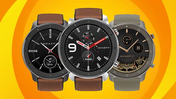 Amazfit GTR Smartwatch With 24 days battery life Launched