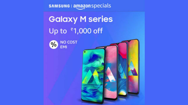 Amazon Offers On Samsung Galaxy M Series phones You Should Consider