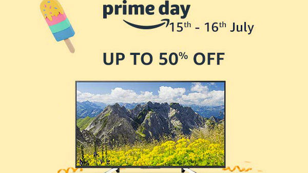 Amazon Prime Day Offers on 50 Inches and 55 Inches Smart TVs to Buy