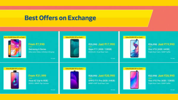 Flipkart Big Shopping Days – Attractive Exchange Offers You Can Get