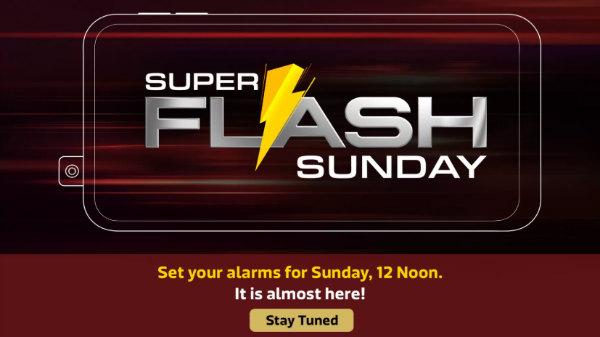 Flipkart Super Flash Sunday Sale – Realme X, Redmi K20 And More
