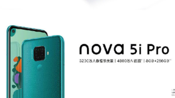 Huawei Nova 5i Pro Launched With Quad-Cameras, Kirin 810 And More