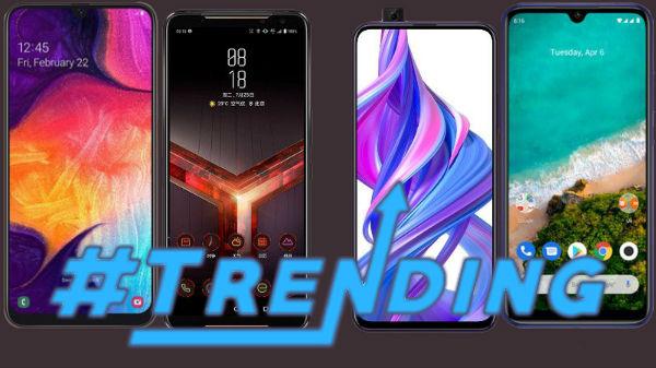 Most Trending Smartphones Of Last Week