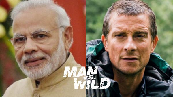 PM Modi to appear on Discovery's Man Vs Wild with Bear Grills