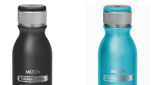 Milton Converts Water-Bottles Into Portable Wireless Audio Speakers