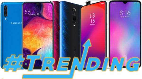 Most Trending Smartphones Of Week 27, 2019