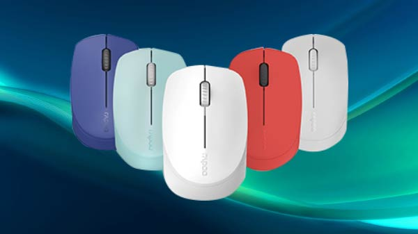 Rapoo Launches M100 Silent Multi-Mode Wireless Mouse In India