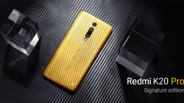 Redmi K20 Pro Signature Edition With Gold And Diamond Launched