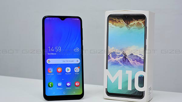 Samsung Galaxy M10 Receives Price Cut Of Rs. 1,000