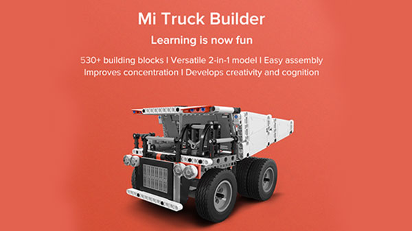 Xiaomi Mi Truck Builder Up For Crowdfunding In India