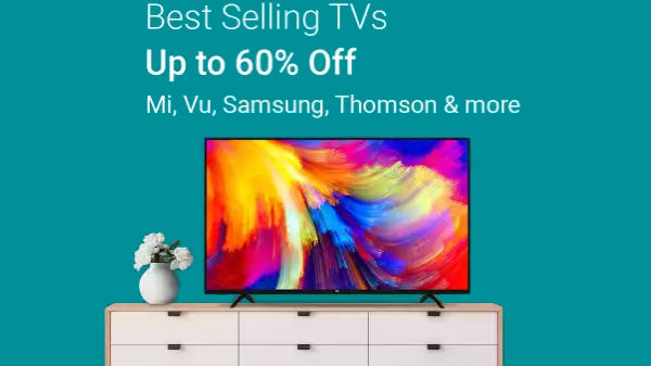 Get Up To 60% Off On TVs From LG, Sony, Vu, Micromax, Samsung And More