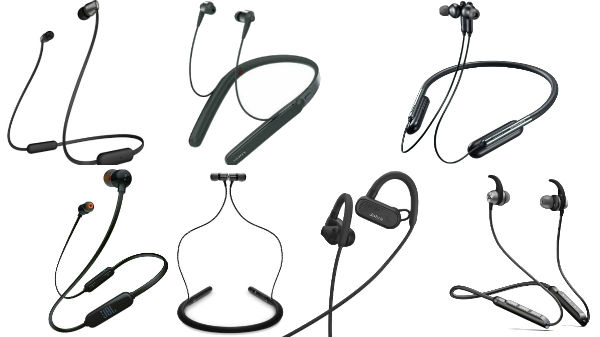 Wireless Neckband Headphones With Best Battery Life Pirce Features And More Gizbot News