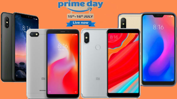 Amazon Prime Day Sale: Offers on Xiaomi Redmi Smartphones