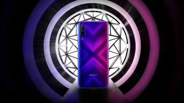 Honor 9X Pro Official Leak: Gradient Colored Rear With Triple Cameras Revealed