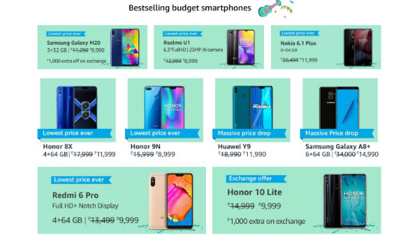 Amazon Prime Last Day Sale – Heavy Discounts On Bestselling Budget Smartphones