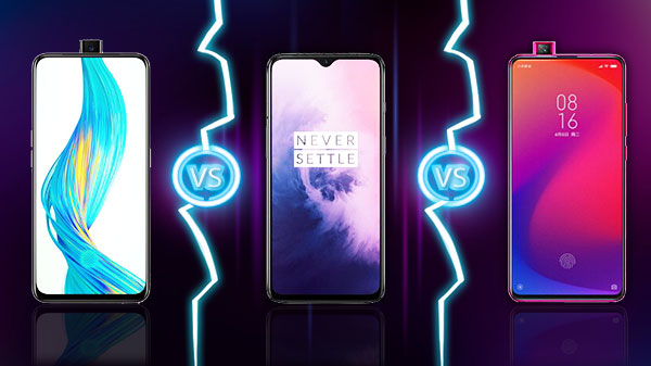 Redmi K20 Pro vs OnePlus 7 vs Realme X – Which Is A Good Buy