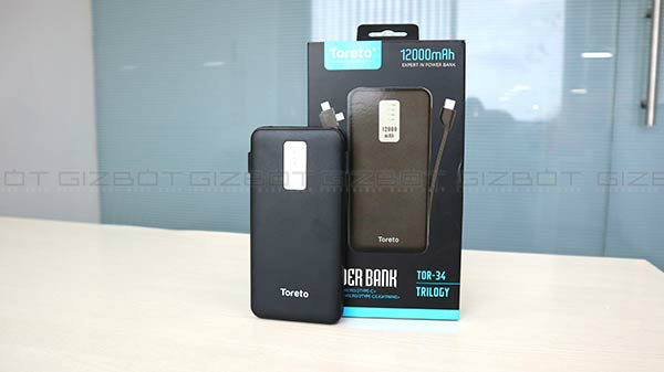 Toreto Trilogy 12000mAh Power Bank Review – Ditch Your Tangled Charging Cables