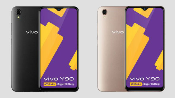 Vivo Y90 With MediaTek Helio A22 SoC And 4030mAh Goes Official