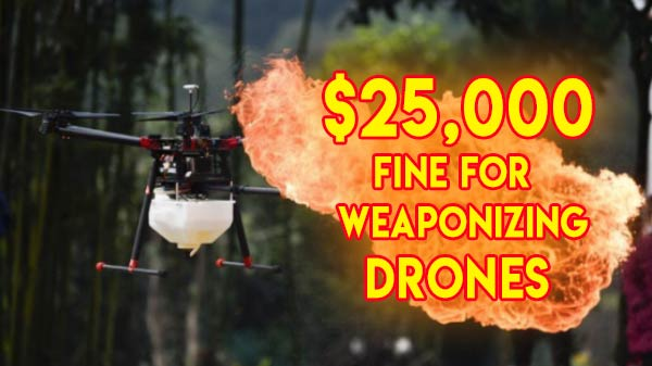 FFA Warns US Citizens Against Use Of Weaponized Drones