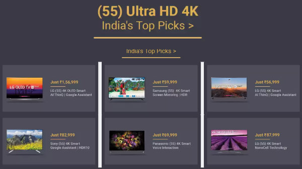 Buying Guide – Best 4K Ultra HD Smart TVs To Buy In India