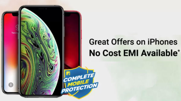 Flipkart Freedom Sale Offers – Get iPhones On No Cost EMI